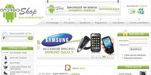 Android-shop.it - Il primo negozio Android on-line