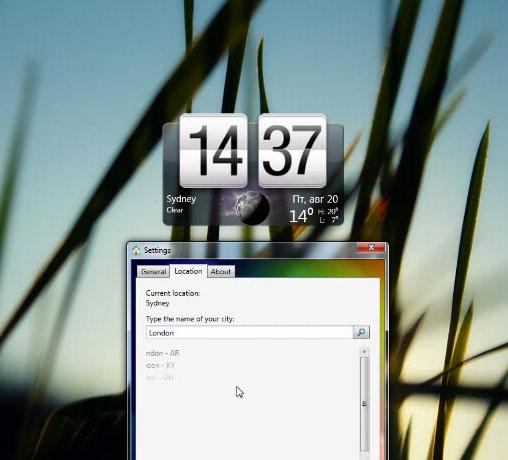 Vi piace il widget di HTC del meteo? Mettelo anche su Vista e 7!