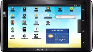 Market Android sui tablet Archos