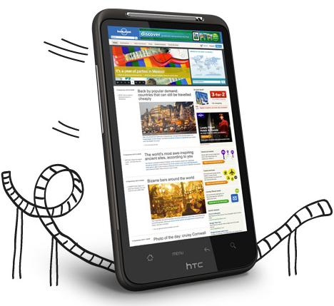 HTC Desire HD - Cosa và, e cosa non và