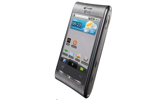 LG Optimus GT: è arrivato l'aggiornamento ad Android 2.1!