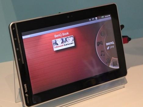 Tablet BenQ R100 per il 1° trimestre del 2011