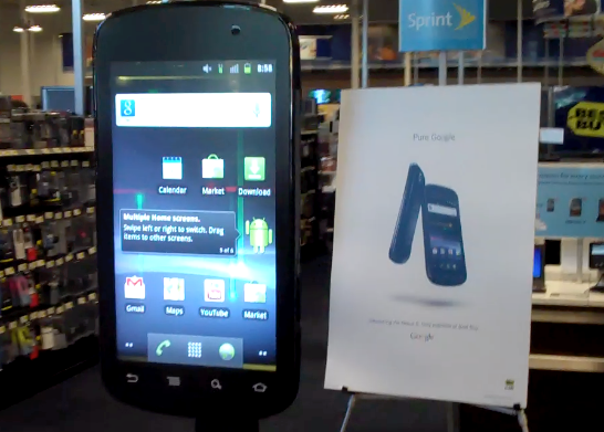 Un Nexus S da 42 pollici! [Video]