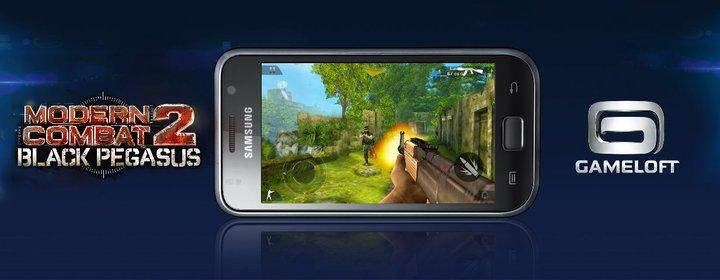 Modern Combat 2: Black Pegasus per Android in arrivo!