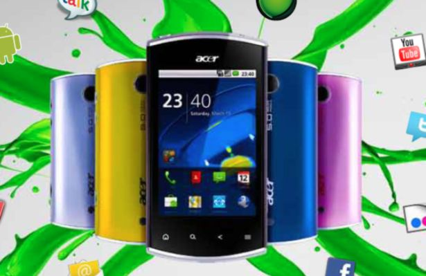Acer Liquid Mini con Android 2.2 Froyo