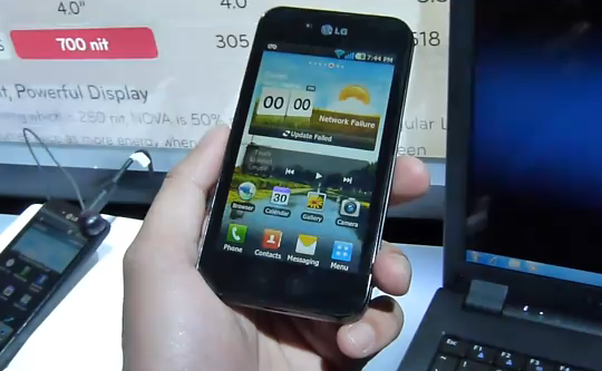 CES 2011: LG Optimus Black Hands-on