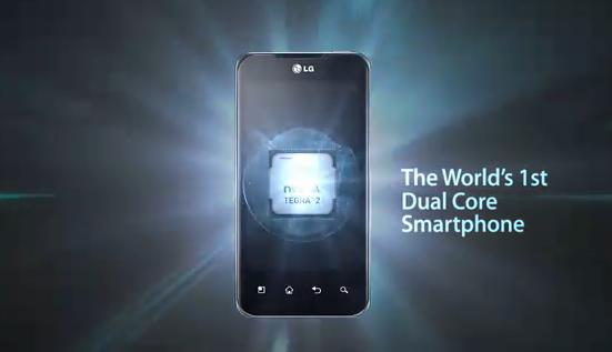 LG Optimus 2X P990: Il video promozionale