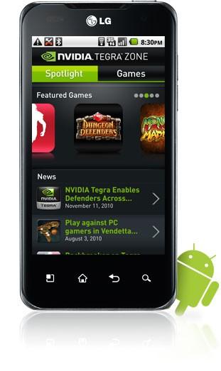 NVIDIA lancerà la Tegra Zone, store Android per dispositivi Tegra 2