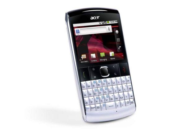 Acer rivela il beTouch E210, Android QWERTY di fascia bassa