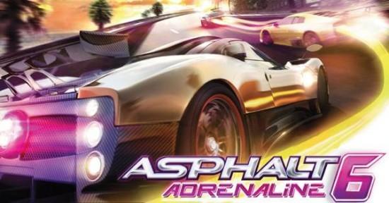 Asphalt 6 Adrenaline HD in arrivo su Android