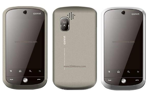 Gigabyte GSmart G1310, un Dual SIM con Android 2.2