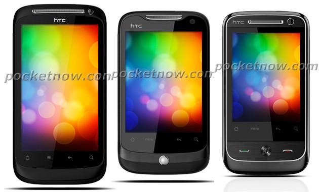 Tre nuovi (?) device Android HTC in alcuni render
