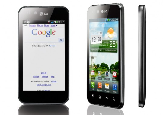 LG annuncia Optimus Black con Display NOVA
