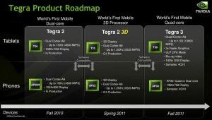 Nvidia Tegra 3 a settembre, CPU quad core da 1.5 Ghz