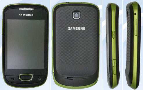 Samsung Galaxy Mini S5570 in foto; atteso all'MWC 2011