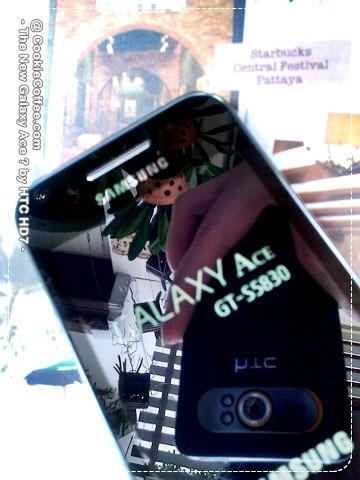 Samsung Galaxy Ace S5830 catturato in una nuova foto