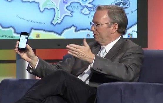 Eric Schmidt: LTE, pagamenti mobili (NFC) e smartphone economici le priorità di Google per il 2011