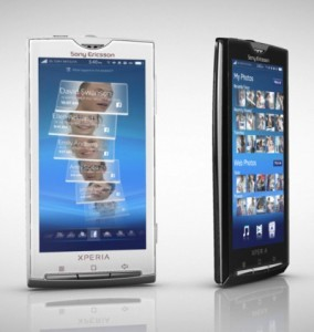 Sony Ericsson Xperia X10 si fermerà ad Android 2.1