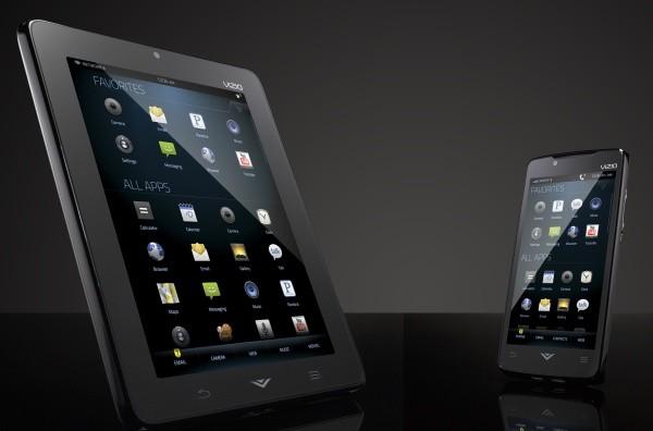 Vizio Tablet e Vizio Phone in video
