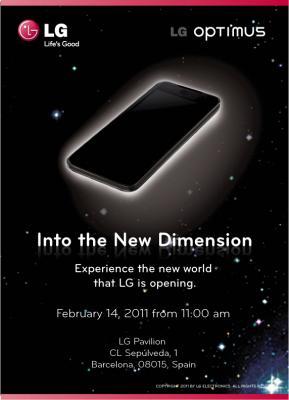 """LG promette una """"Nuova Dimensione"""" al MWC 2011"""