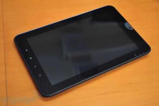 Tablet Toshiba Honeycomb con Tegra 2 per la 1° metà dell'anno