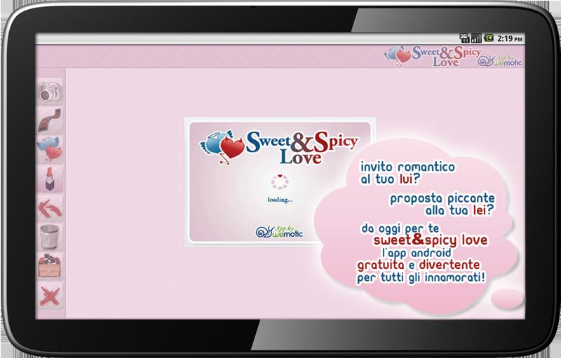 Sweet & Spicy Love, l'applicazione per tutti gli innamorati!