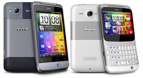 HTC Salsa e ChaCha, ufficiali i due smartphone Facebook
