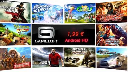 Tutti i giochi Gameloft HD per Android a 1,99€ fino a S.Valentino!