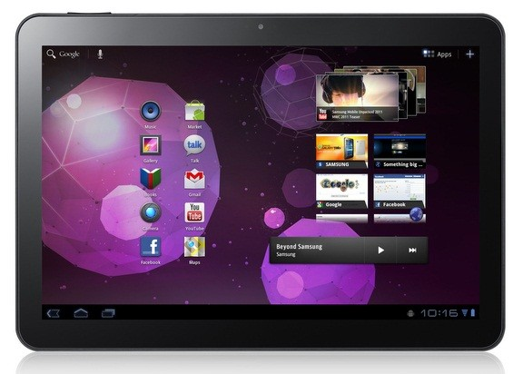 Samsung Galaxy Tab 10.1, con Vodafone a 699€ in Portogallo