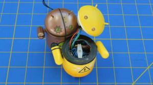 I giocattoli Android in versione