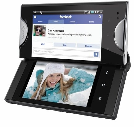 Kyocera Echo, dual screen con Android 2.2 (video)