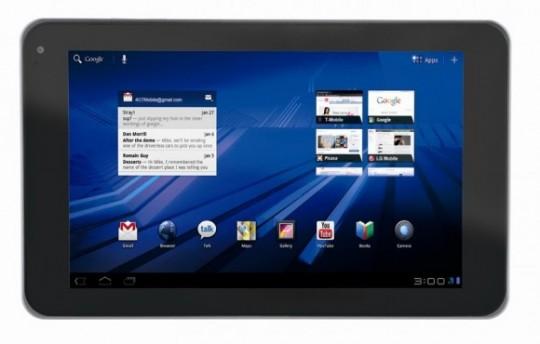LG Optimus Pad ufficiale: Tegra 2 e display da 8.9