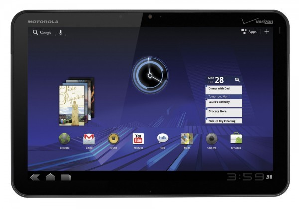 Motorola Xoom, in Europa ad un prezzo di 700€