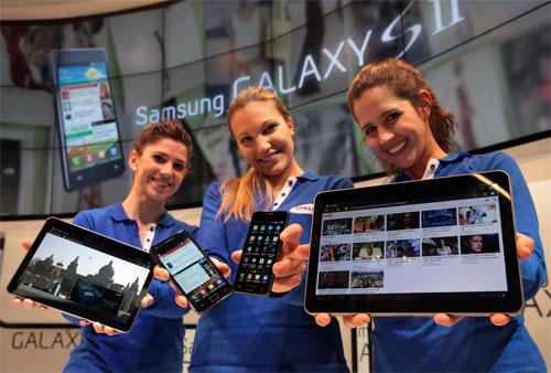Samsung Galaxy S2 e Galaxy Tab 2, eccoli in foto!