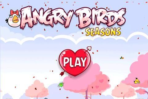 Angry Birds Seasons riceve l'aggiornamento di San Valentino!
