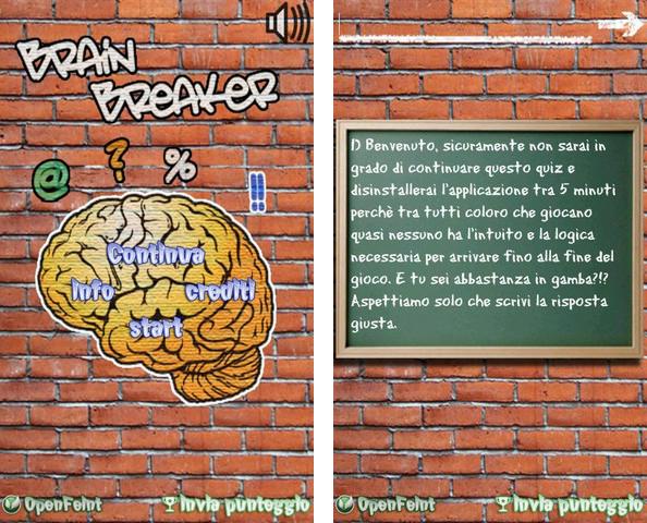 BrainBreaker: Mettete a dura prova il vostro cervello!