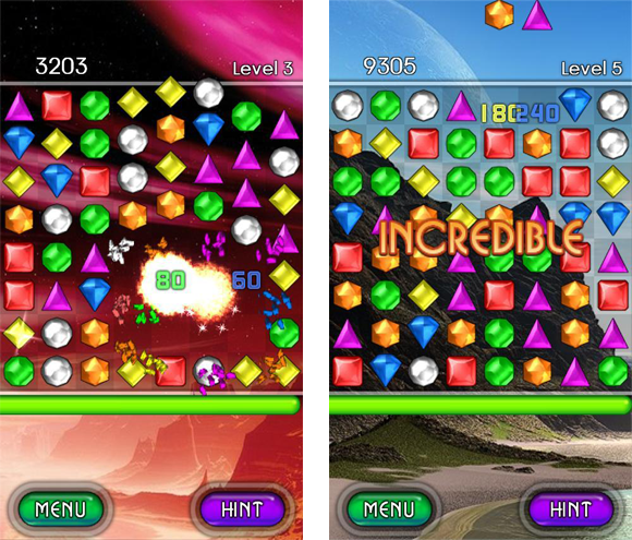 Bejeweled 2 disponibile per Android