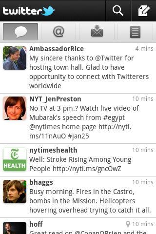 Twitter per Android si aggiorna alla versione 2.0
