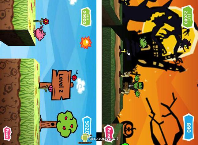 Pig Rush: aiuta Jumpy a scappare dalla fattoria