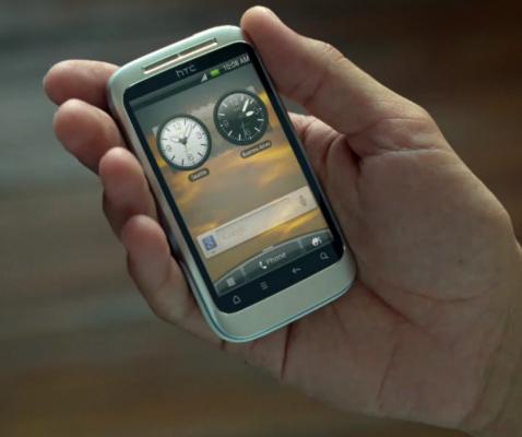HTC Wildfire 2 svelato in uno spot?