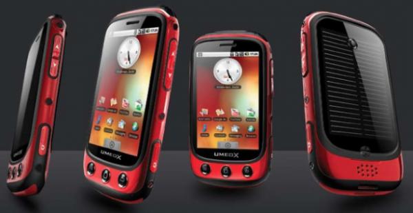 Umeox Apollo, l'Android a energia solare