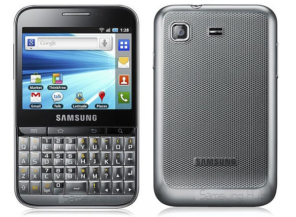 Samsung Galaxy Pro, terminale QWERTY con Android 2.2