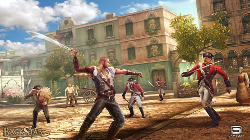 BackStab ora disponibile per Sony Ericsson Xperia PLAY