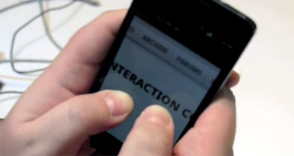 Samsung Galaxy S II, in video le gesture tramite giroscopio