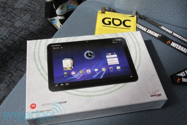 Google regala Motorola Xoom e Nexus S alla GDC 2011
