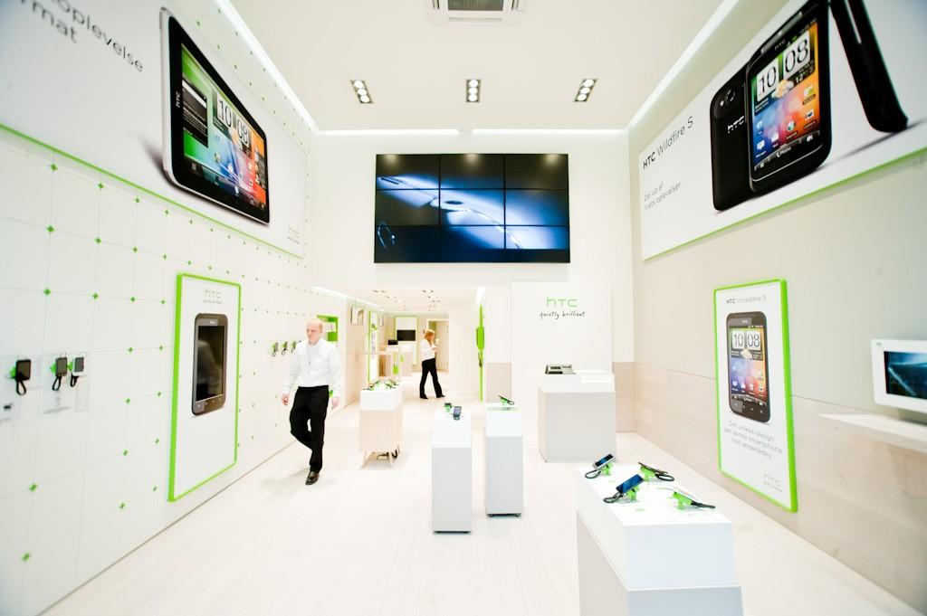 Il primo Concept Store HTC apre in Danimarca (foto)