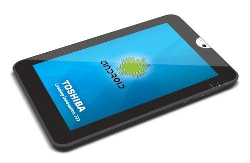 Il tablet Honeycomb di Toshiba appare su Amazon, foto e specifiche