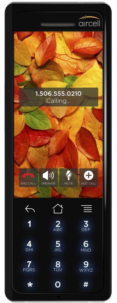 Aircell presenta Aircell Smartphone. E' Android il primo cellulare utilizzabile in aereo.