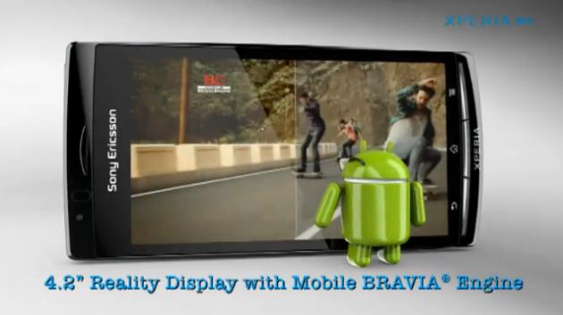 Sony Ericsson Xperia Arc in un nuovo video promozionale