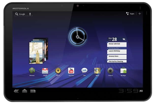 Motorola XOOM Wi-Fi, dal 27 Marzo negli USA a 599$